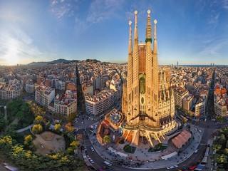 مدريد- سرقسطة- بوبليت- مونتيسرات- برشلونة