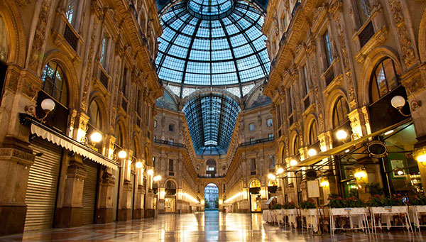 ميلان - بيزا - روما، إيطاليا