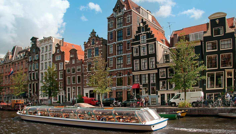 أمستردام - بروكسل - بروج - باريس، فرنسا