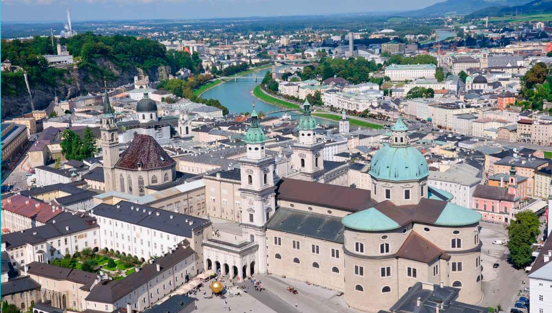 . البندقية - فيرونا - سالزبورغ، النمسا