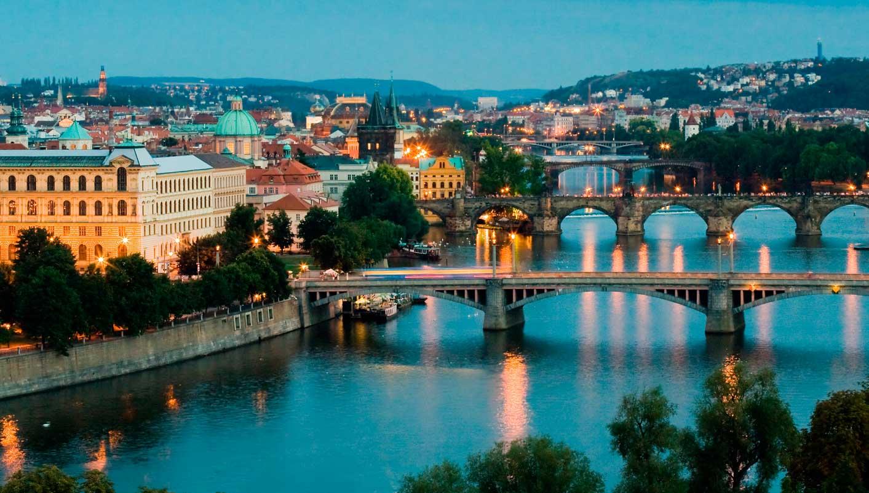 الوصول مدينة براغ، جمهورية التشيك
