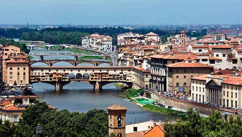 الوصول إلى روما، إيطاليا