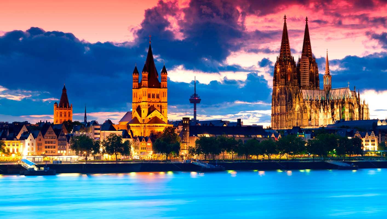براغ - لوف - فورتسبورغ - فرانكفورت، ألمانيا