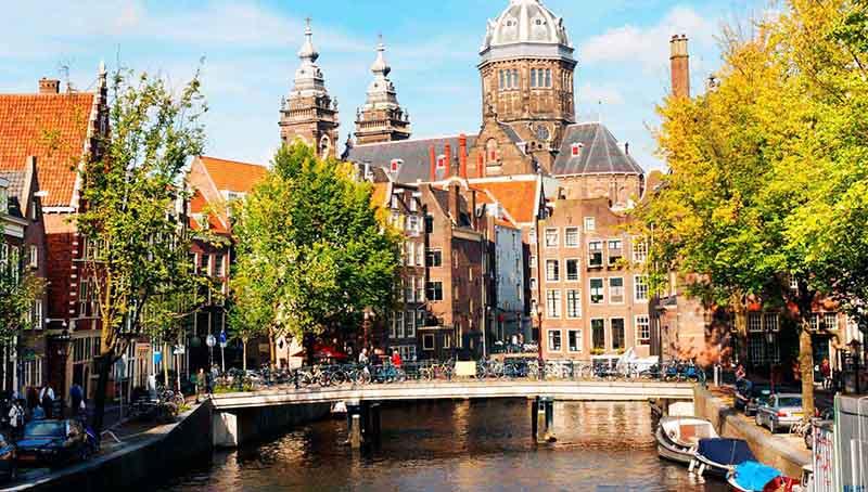 فرانكفورت - رحلة نهرية في نهر الراين - كولونيا - أمستردام، هولندا