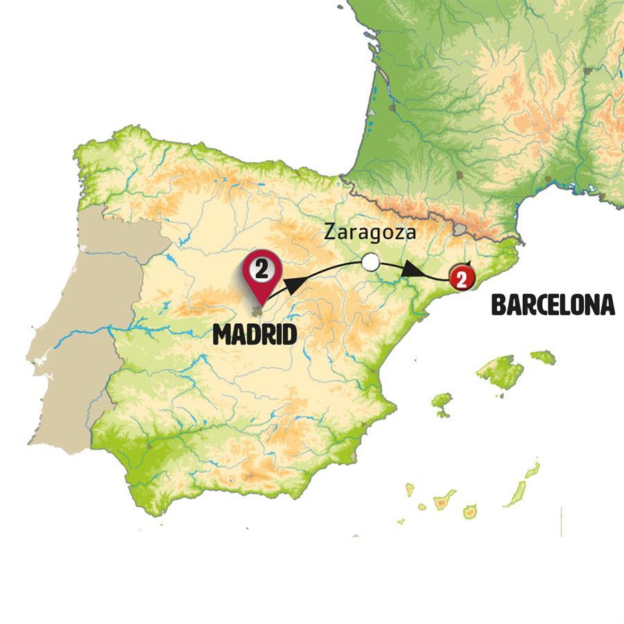 مدريد وبرشلونة