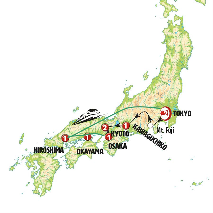 تناقضات يابانية – النهاية في طوكيو