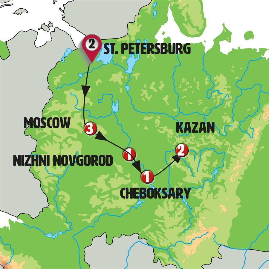 أجمل 10 ايام فى روسيا