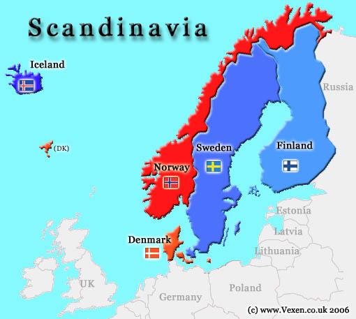 الاستجمام وسط الطبيعية في النرويج وكوبنهاغن وآيسلندا