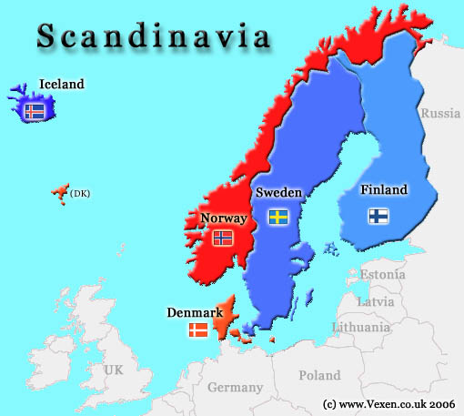 استكشاف أساطير الدول الإسكندنافية