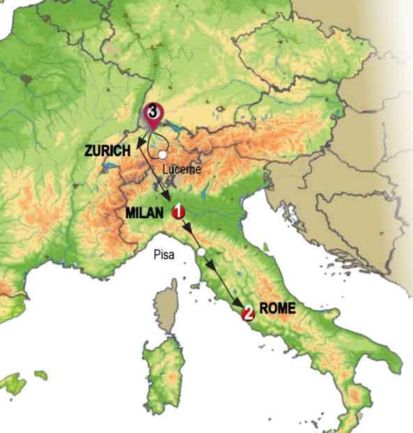 روائع سويسرية وإيطالية