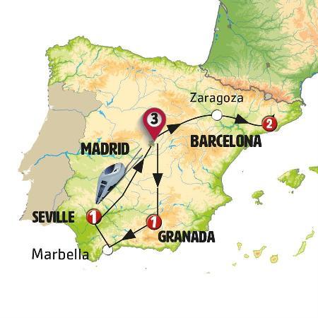 رحلة إلى مدن إسبانيا الكلاسيكية