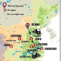مدن الصين التقليدية والحديثة