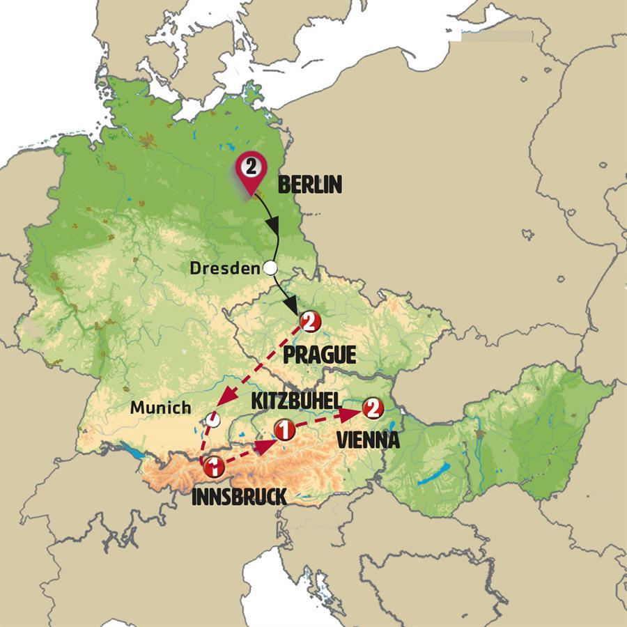 رحلة إلى أهم ثلاث عواصم أوروبية