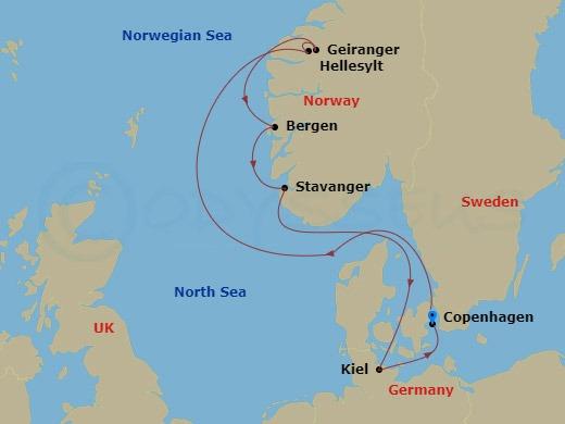 احلى 7 ليال فى غرب البحر المتوسط